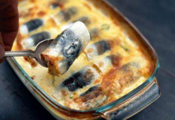 Tasty aringhe pesce: ricette