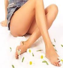 Faça uma bela e esbelta pernas