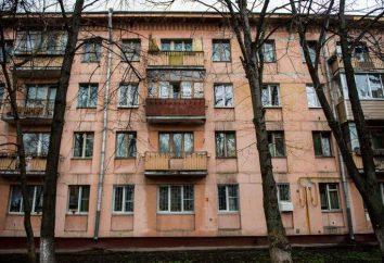 Demolición del edificio de cinco pisos en Moscú, la dirección, el plan