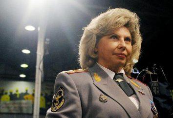 O Provedor de Justiça de Direitos Humanos da Federação Russa Tatyana Moskalkova: biografia, atividades e fatos interessantes