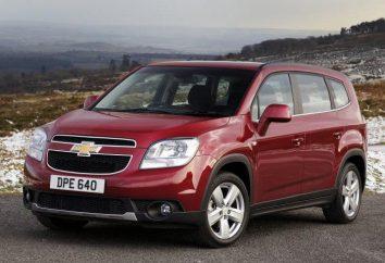 """conocida marca de coches """"Chevrolet"""". Minivans y sus características"""
