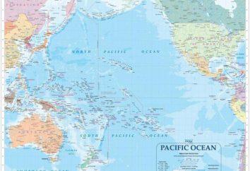 La ubicación geográfica del Pacífico: descripción y características