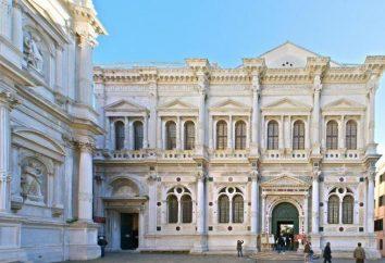 A história de Veneza. Veneza atrações
