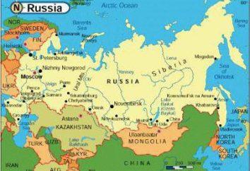 Paesi con i quali i confini russi. Il numero dei paesi che confinano con la Russia