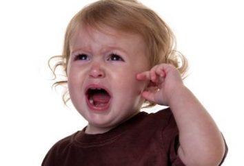 Das Kind hat eine Ohrenschmerzen. Was zu tun ist? Wie zu behandeln?