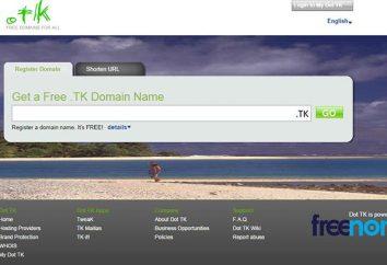Dominios Islas Tokelau. Cómo registrar un dominio tk de forma gratuita?