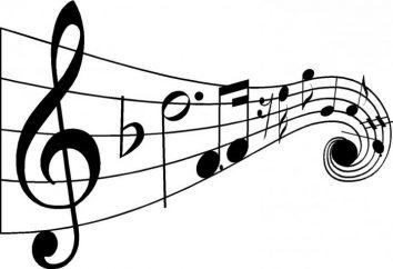 Stile und Arten von Songs