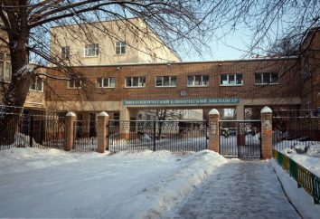 Miasto Centrum Onkologii w Baumana: zdjęcia i opinie