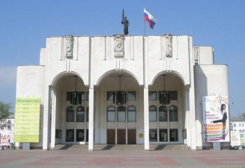 Teatr Dramatyczny (Kursk): hala schemat repertuar, historia