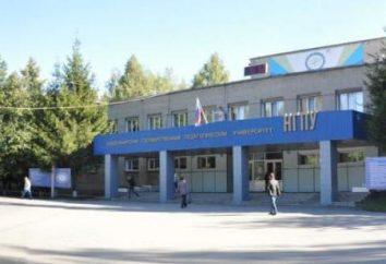 NGPU, Nowosybirsk, wydziały i specjalności