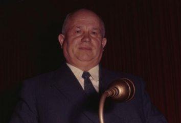 A renúncia de Khrushchev. Durante o reinado das razões da renúncia do Nikity Sergeevicha Hruschova