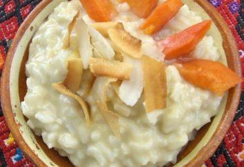 """Gotowany ryż w multivarka """"Redmond"""" – smaczne i pożywne śniadanie ze świeżych owoców"""