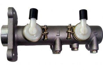 Der Hauptbremszylinder VAZ-2109: Ausführung. Zu ändern oder zu reparieren?