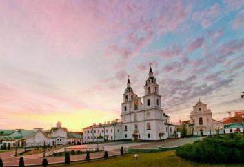 Catedral de St. Catedral Espírito em Minsk. Passado, presente e santuários
