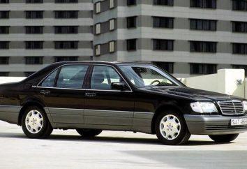 Mercedes-Benz W140: Die Geschichte des legendären Körper. Merkmale des Fahrzeugs, in dem ein Klassiker der deutschen Automobilindustrie geworden ist
