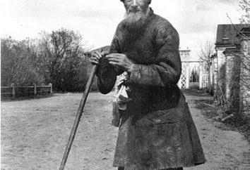 Tale « En tant qu'homme d'oies partagée » dans le récit Lva Tolstogo