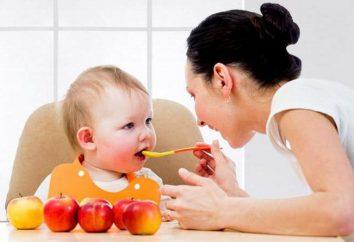 Przecier jabłkowy dla niemowląt ze świeżych jabłek: przepis