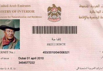 Comment obtenir un visa dans les Emirats Arabes Unis seul. centre des visas Emirats Arabes Unis en Russie: Adresse, visa