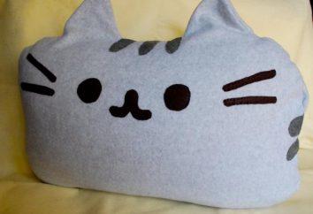 """Kissen """"Katze"""" mit seinen eigenen Händen. Wie ein Kissen mit Nadeln binden"""