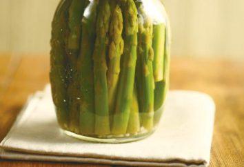 Ricetta asparagi in scatola: tecnologia e le caratteristiche del processo