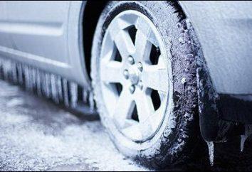 pneus de Inverno studless: comentários e fabricantes