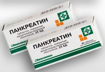 """Che cosa significa aiuto """"Pancreatina""""? Imparare da ciò che le pillole """"Pancreatina"""""""