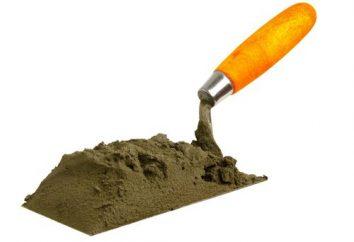Was sind die Bestandteile von Zement?