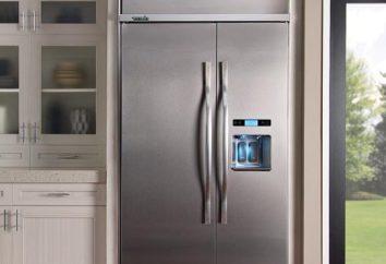 frigorifero incorporato: la dimensione. Frigorifero da incasso: recensioni, prezzo, foto