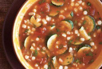 Zuppa di verdure con zucchine: la ricetta con una foto