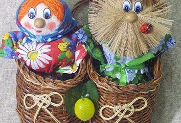 Brownie mit ihren Händen: eine Meisterklasse auf Puppen zu machen. Wie domovenka Sackleinen mit ihren Händen nähen?