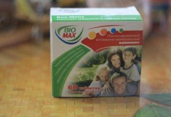 -Vitamine « Biomax »: critiques et caractéristiques principales