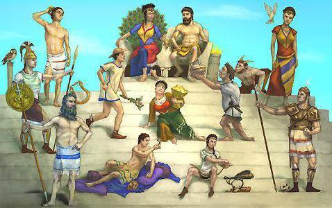 Gott des Reichtums unter den Griechen. Antike griechische