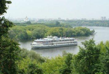 Park Kołomna w południowej części Moskwy