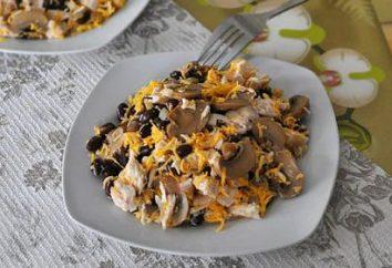 Quale luce insalate senza maionese può essere preparato per le feste e non solo