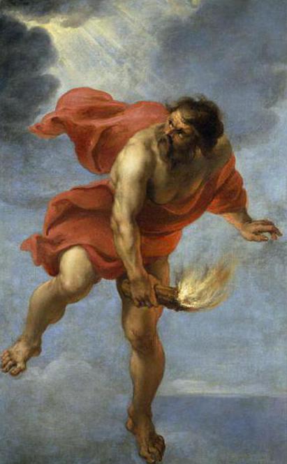 Kim Jest Prometheus Obraz Prometeusza W Literaturze I Kulturze