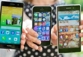 Mejores smartphones: calificación. ¿Qué inteligente es la mejor de todas las características en el mundo?