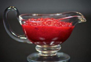 Come cucinare la salsa di mirtillo aromatizzato