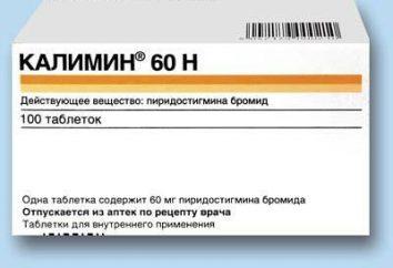 """Lek """"Kalimin"""": instrukcje użytkowania, real"""