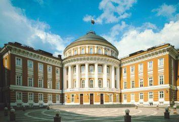 O Senado Palace é a residência do presidente da Federação Russa