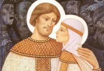 Relikty Piotra i Fevronii w Muromie: adres, referencje, zdjęcia