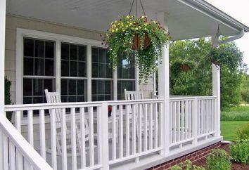 Jak zbudować ganek do domu własnymi rękami tips