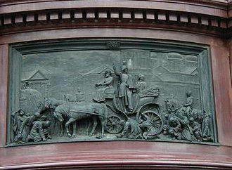 Monumento a Nicolau I, na Praça de Santo Isaac em São Petersburgo