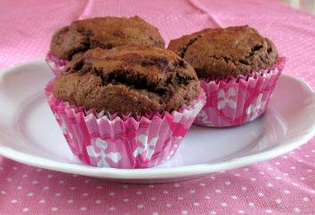 Backen Sie Schokoladen-Muffins: Rezept für ein großes Dessert