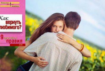 """Książka """"Jak zwrócić kogoś bliskiego? 49 prostych zasad. """" Jak powrócić do ukochanej: Doradztwo i poradnictwo psychologów"""