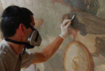 Wie nennt man Menschen Beruf Kulturdenkmäler und Kunstwerke Wiederherstellung
