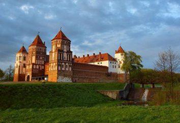 Castillos y palacios en Bielorrusia