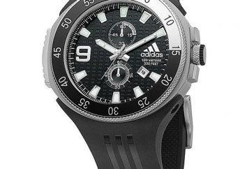 Adidas zegarki: czas Chronograph