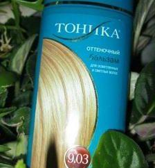 Toniques pour les cheveux « Tonic »: la palette de couleurs et les caractéristiques du produit