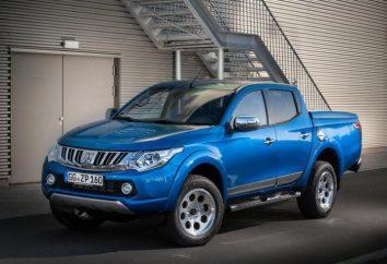 Nowy Mitsubishi L200: specyfikacje i opis japońskiej pickupowej