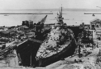 """""""Gneisenau""""(battleship) cechy i opis struktury"""